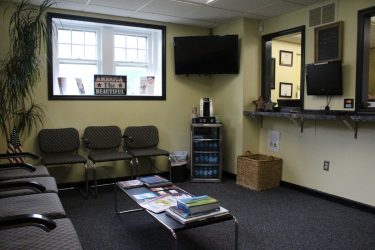 cirocco dental center waiting room
