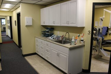 cirocco dental center counter area