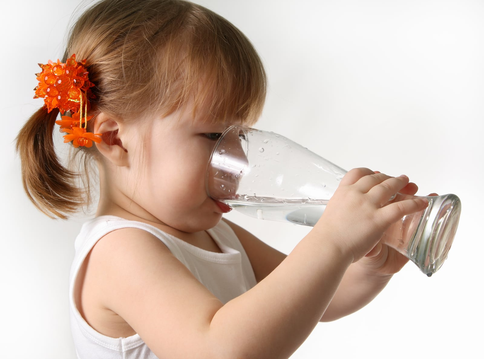 Fluoridated water is beneficial to the dental health of children